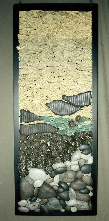 Mère, 2005.  152 x 66 cm.   Collection Privée.