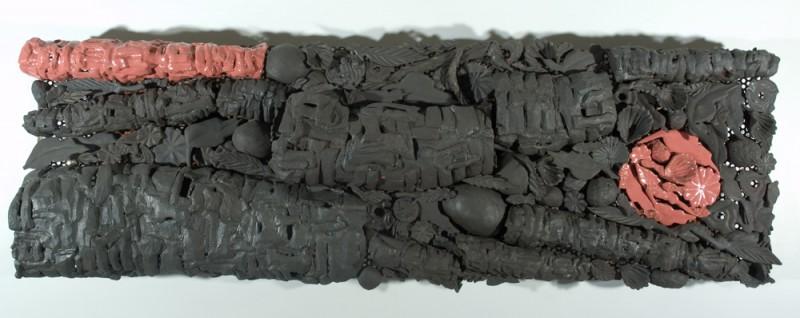 mémoire sélective, 2009.   49 cm x 122 cm