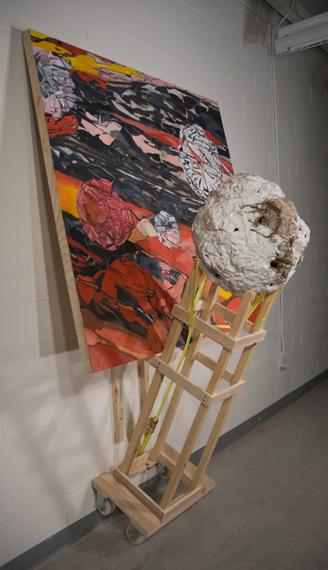 Affording Possibility, 2010.  312 cm x 170 cm x 91 cm