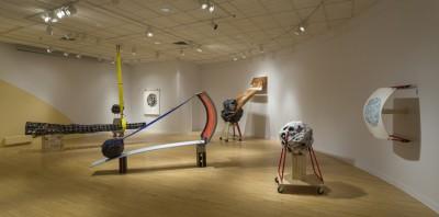 Vue d'installation, Galerie d'art d'Outremont, février, 2013.
