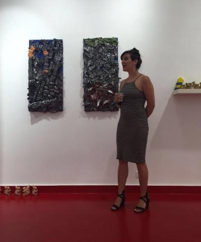 Galerie Honos Art, juillet 2016, Rome Italie