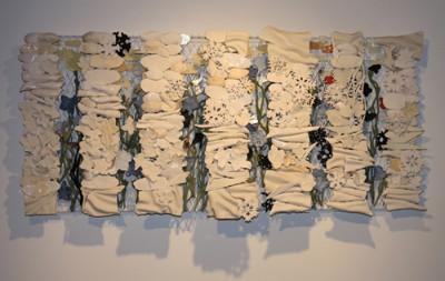 Almanach, 2009. Porcelain, metal. 61cm x 122 cm x 17 cm