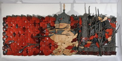 Blanche-Canelle, 2006.  183 x 64 cm. Collection Vicki & Stan Zack.